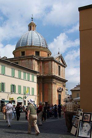 Castel Gandolfo, Kirche