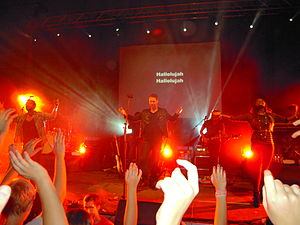 English: Hillsong Live Australia on the God Is...