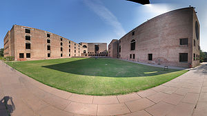 Panorama image of the main complex of Indian I...