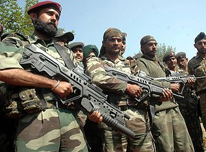 English: Indian Army Elite 9 Para Commandos