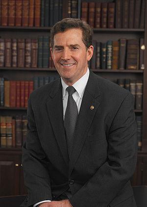 Official photo of U.S. Senator {{w|Jim DeMint}}.