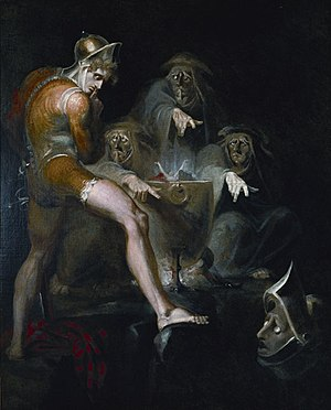 Macbeth Consulting the Vision of the Armed Hea...