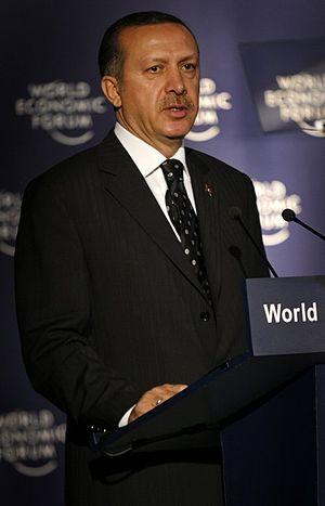 Recep Tayyip Erdogan, Prime Minister of Turkey...
