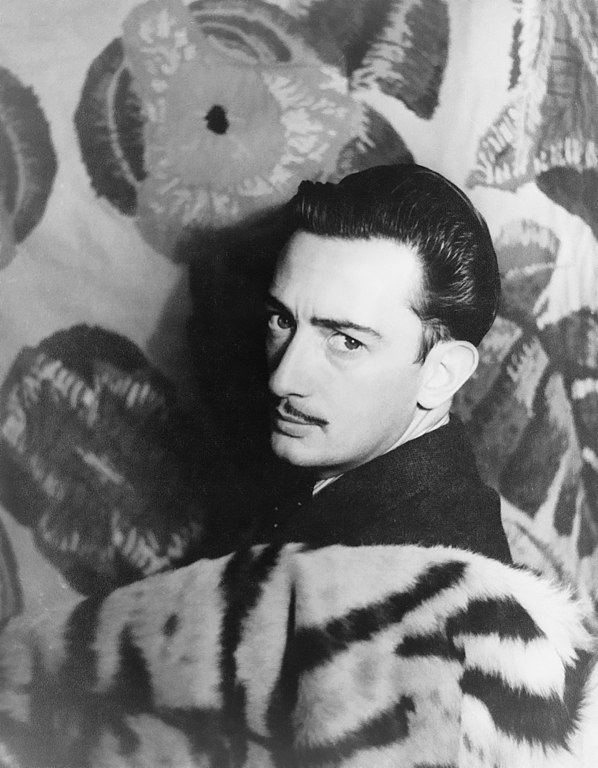 Salvador Dalí 1939 - photo by Carl van Vechten