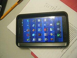 Español: es una foto de una tablet Samsung