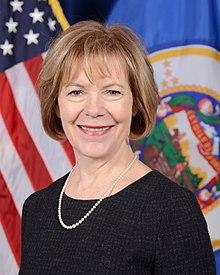 Image result for Senator Tina Smith (MN)