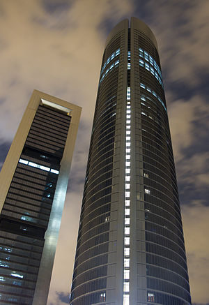 English: Torre Caja Madrid and Torre Sacyr Val...