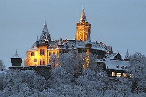 Castle of Wernigerode in Winter, Shutter speed...