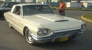 1964 Ford Thunderbird photographed in Laval, Q...