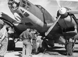Heinkel He 111 de la Légion Condor