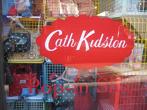 Cath Kidston shop window display.