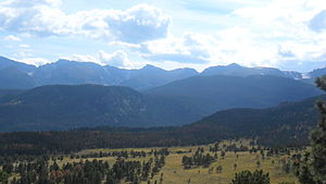 English: Rocky Mountains, Colorado