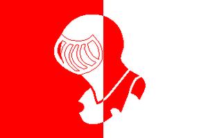 Vlag gemeente Helmond, bron: http://www.shipma...