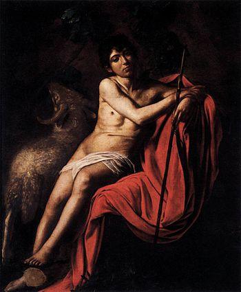 Michelangelo Merisi da Caravaggio - St John th...