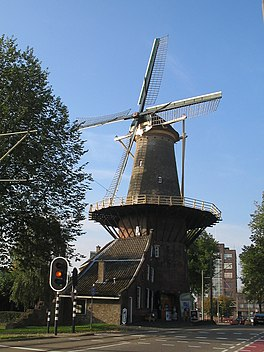 Molen De Roos in 2009.