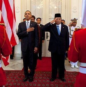 President of Indonesia Susilo Bambang Yudhoyon...