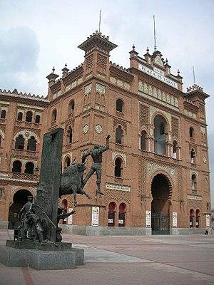 English: Las Ventas Bullring, in Madrid (Spain...