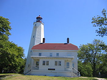 The oldest working lighthouse in the US, built...