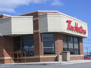 English: A Tim Hortons in South Portland, Maine