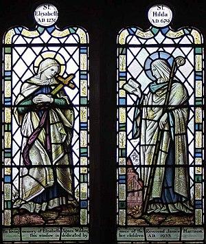 English: St Bartholomew, Barbon, Cumbria - Win...