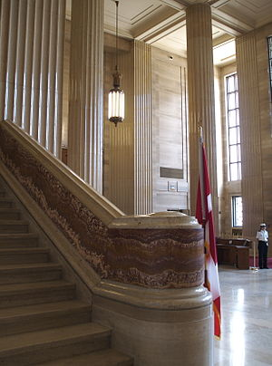 Supreme Court, Ottawa, Canada.