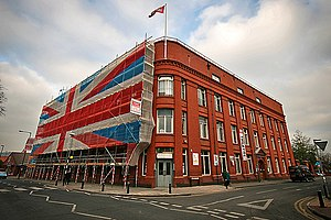 The Tobacco Factory in Bedminster Bristol duri...