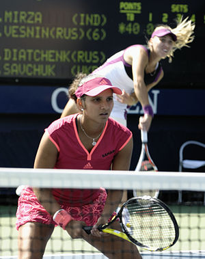 Doubles pairing at the 2011 USO