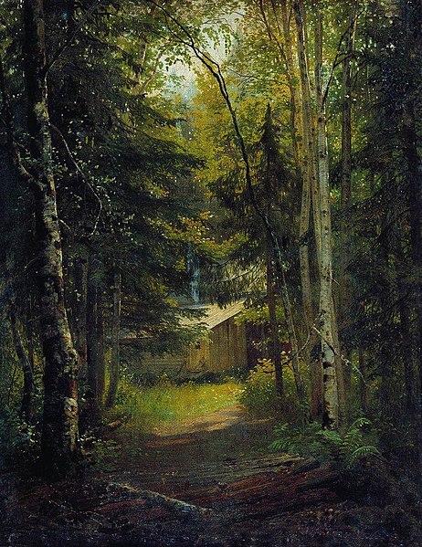 Archivo:Сторожка в лесу.jpg