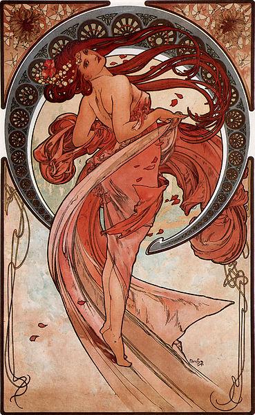 Datei:Alfons Mucha - 1898 - Dance.jpg