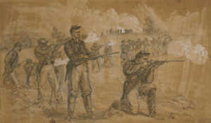 1st Maine Cavalry Skirmishing