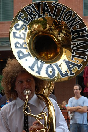 Ben Jaffe of the Preservation Hall Jazz Band p...