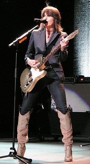 English: Chrissie Hynde in concert. Taken Augu...
