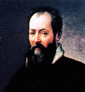 Portrait recadré de Giorgio Vasari