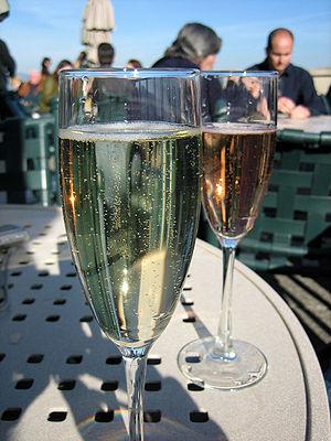 California sparkling wine from Sonoma estate o...