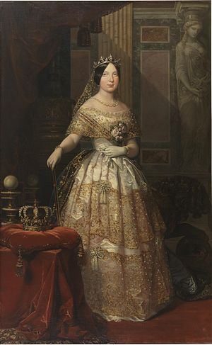 English: Isabel II of Spain as Queen
