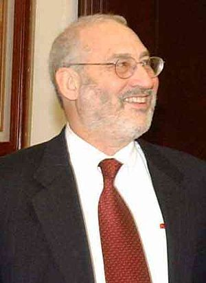 Cropped picture of Joseph Stiglitz, U.S. econo...