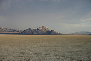 Old Razorback Mountain at the Black Rock Desert
