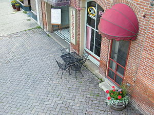 English: Historic Brick Sidewalks
