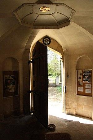 English: Open Door A welcoming open door at St...