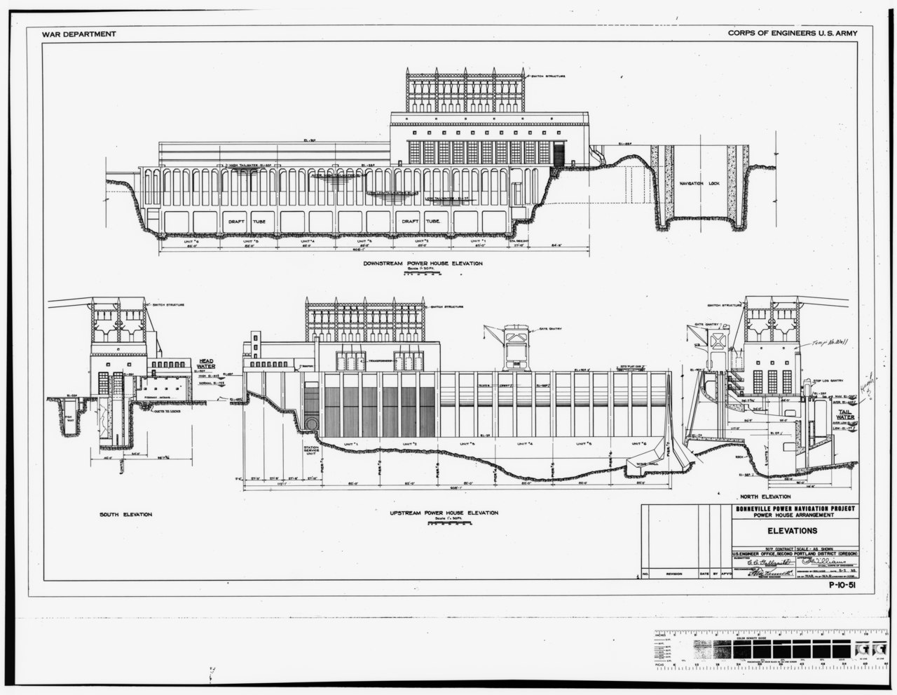 File Photocopy Of Original Construction Drawing Dated 2