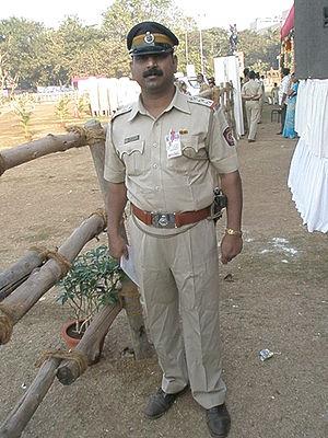 Police Inspector in Mumbai Police