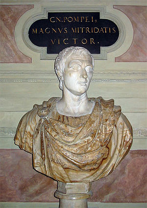 Bust of Pompey in the Residenz, Munich Antiqua...