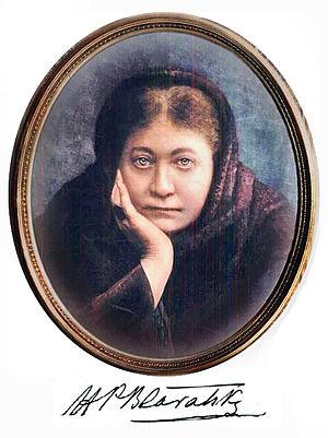 Portrait of Madame Blavatsky