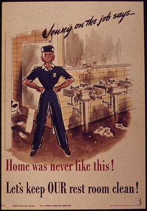 """Jenny on the job - Home was never like t..."