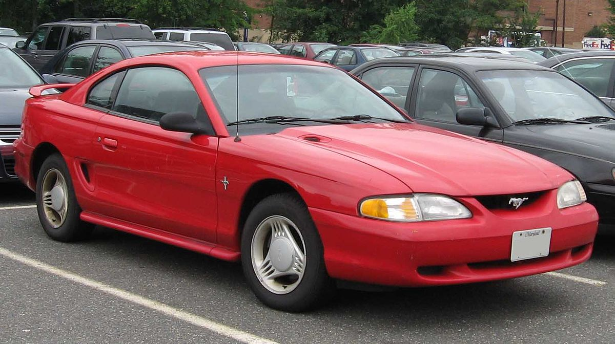 ford mustang fourth generation