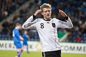 Deutsch: Andre Schürrle im U-21-Länderspiel De...