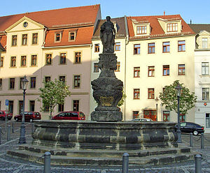Samariterinnenbrunnen in Zittau