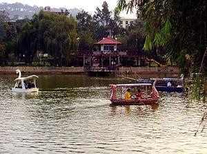 Burnham Park Lagoon, Baguio City, Philippines