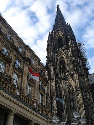 Catedral de la ciudad de Koln, Alemania