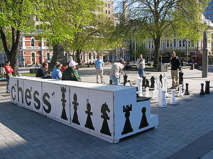 Chess in Christchurch, New Zealand